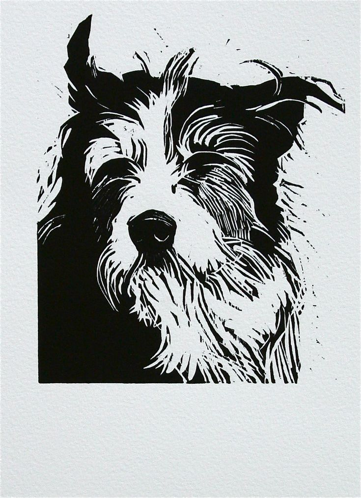 woodcut 'geoff' | by Peter Polaine Flickr - Photo Sharing!