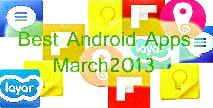 As usual in this month lots of apps came in the Google Play.