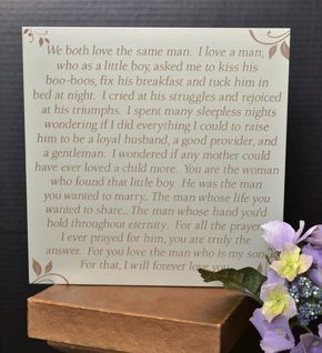 Mother Daughter Wedding Gift Ideas : daughter in law plaque daughter in law daughters in laws plate etsy ...