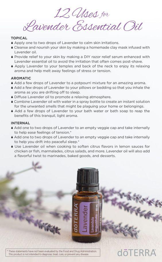 12 Uses for doTERRA Lavender Essential Oil   doTERRA Essential Oils