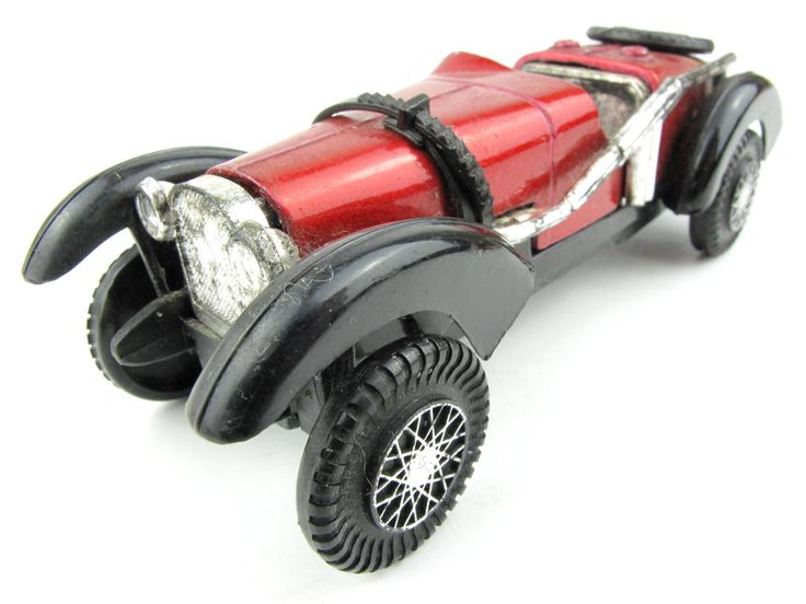 Vintage Toy Bugatti Car Type 59 made in Hong Kong by ForgotenTimes on Etsy