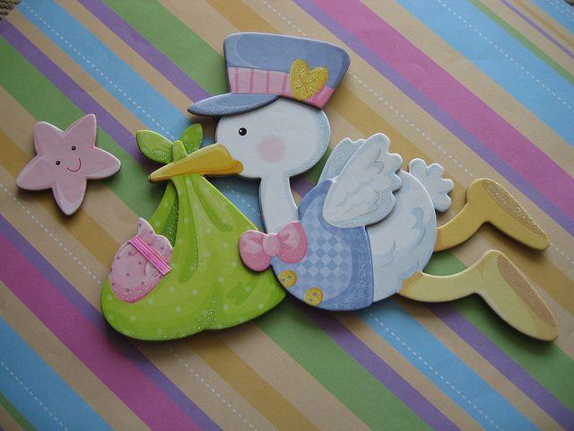 Novas figuras by Nuvem rosa - artesanato e decoração baby & kids , via Flickr