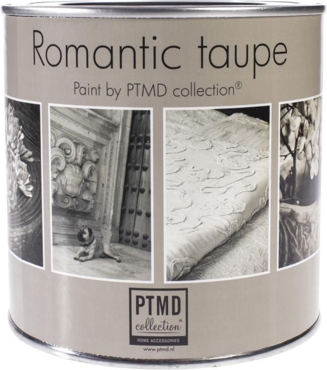 Krijtverf look Romantic Taupe - 0,75 lt - Paint Collection by PTMD