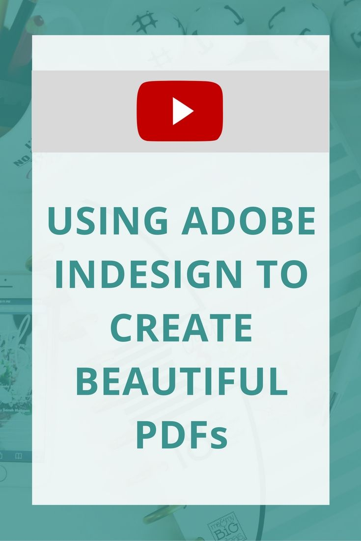 create epub from pdf indesign