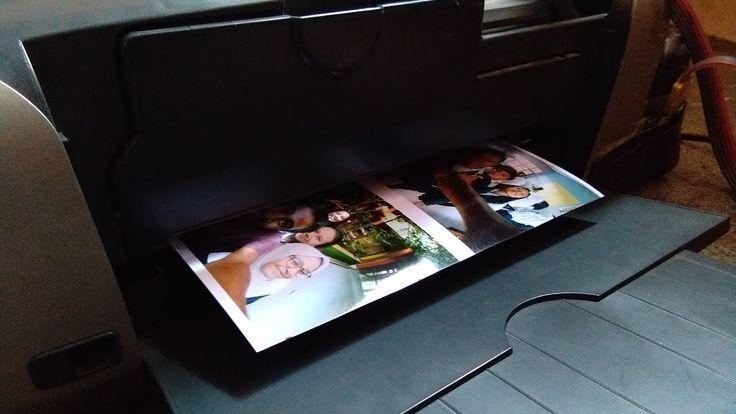 Tester Printer Epson R230 & DataPrint Photo Paper