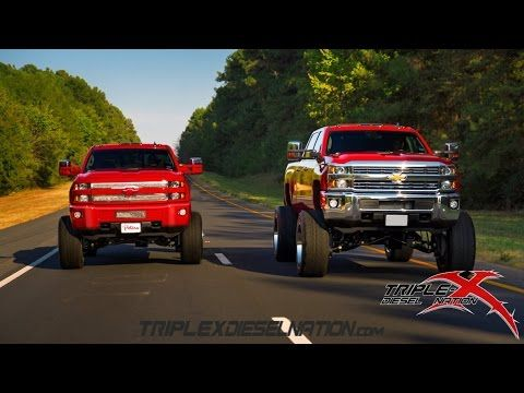 2015 DURAMAX HD'S SNAPPIN NECKS!! - YouTube