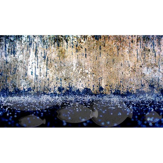 art print storm wall decoration home decornature by aquamorina