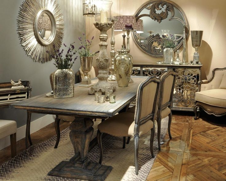 Superb Olivia Chunky Dining Table
