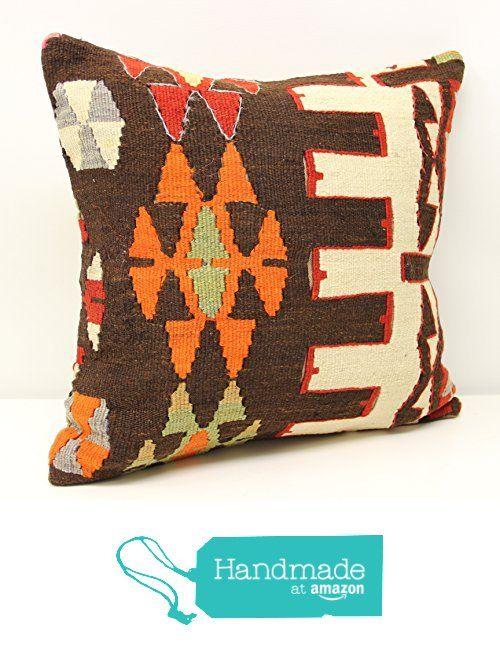 Hand woven kilim pillow cover 18x18 inch (45x45 cm) Oriental Kilim pillow cover Home Decor Natural Pillow cover Accent Kilim Cushion Cover https://www.amazon.com/dp/B01N7MYRV6/ref=hnd_sw_r_pi_dp_p-rzybYNGT40S #handmadeatamazon
