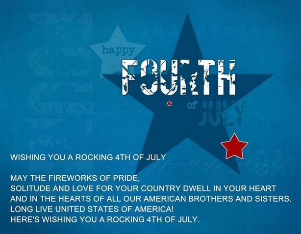 wishes for July 4th