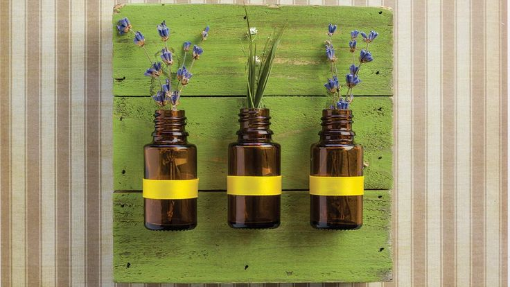 DIY Amber Bottle Wall Art   doTERRA Essential Oils
