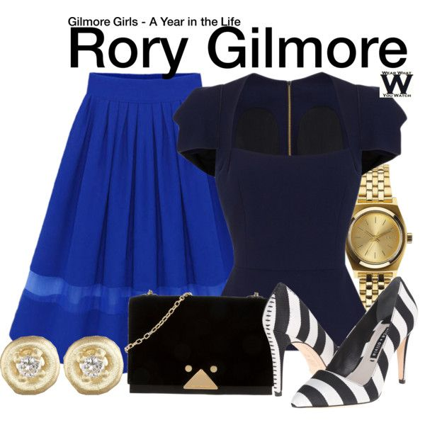 Inspired by Alexis Bledel as Rory Gilmore on Gilmore Girls - A Year in the Life.