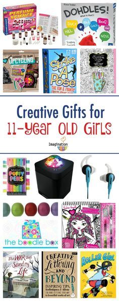 LOVE these creative gifts for 11-year old tween girls (this age is SO hard to shop for!!)