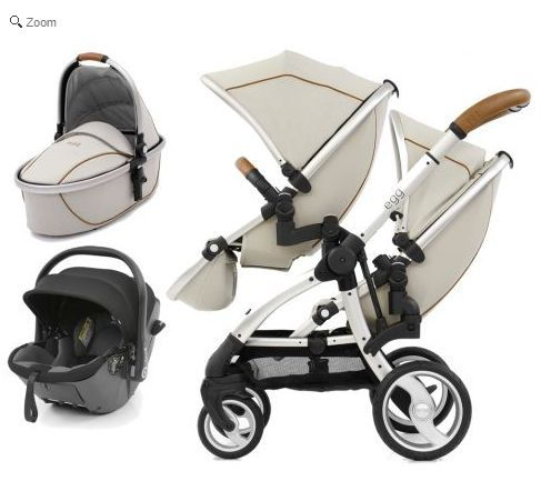 egg Tandem 3in1 i-Size Travel System-Prosecco
