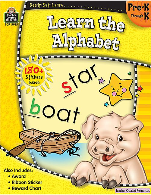 Ready-Set-Learn: Learn the Alphabet PreK-K