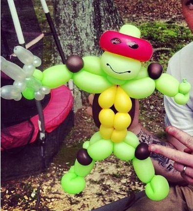 Ninja turtle balloon sculpture #ninja turtle-balloon sculpture #ninja turtle balloon art #ninja turtle-balloon art #ninja turtle balloon character #ninja turtle-balloon character