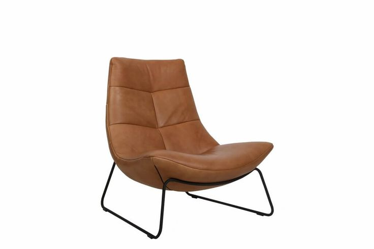 Design fauteuil Rebound met sledepoot