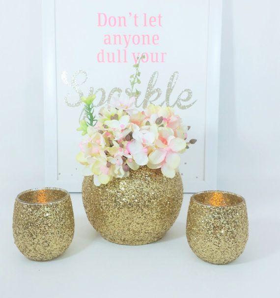 Goldene Hochzeit-Dekor Baby-Dusche-Dekor Graduation von LimeAndCo