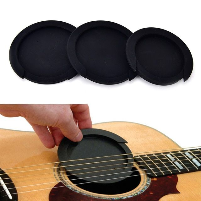 3 Sizes Silicone Acoustic Classic Guitar Feedback Buster Sound Hole Cover Buffer Block Stop Plug Guitar Parts Classic Guitar Guitar Parts Guitar