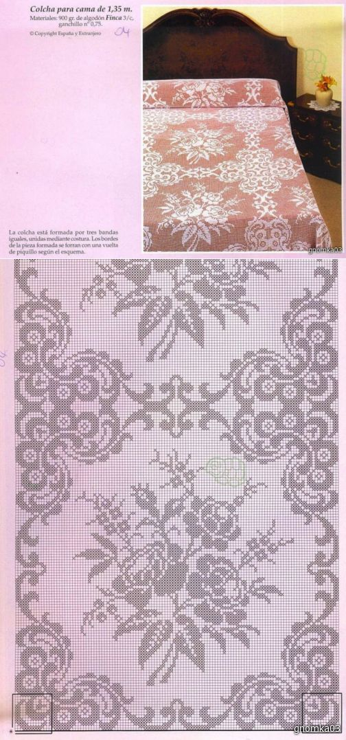 Kira scheme crochet: Scheme crochet no. 1508