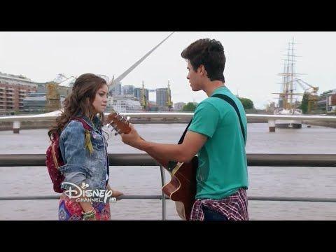 """Soy Luna - Luna canta """"Eres"""" con La Roller Band en el Open Music por Videollamada - Capitulo 38 - YouTube"""