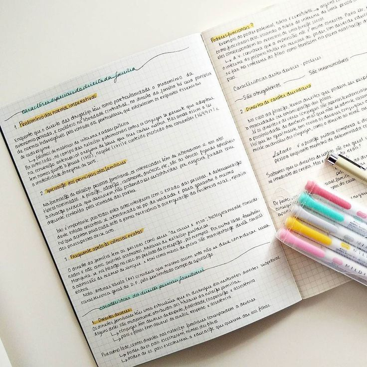 how to write your own study notes
