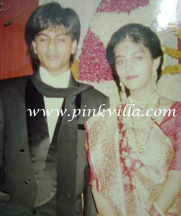 Blast from the Past: Shahrukh and Gauri at their wedding party