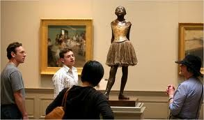 edgar degas - the little fourteen-year-old dancer