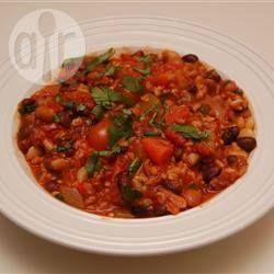 Vegan Mexican Bean Stew