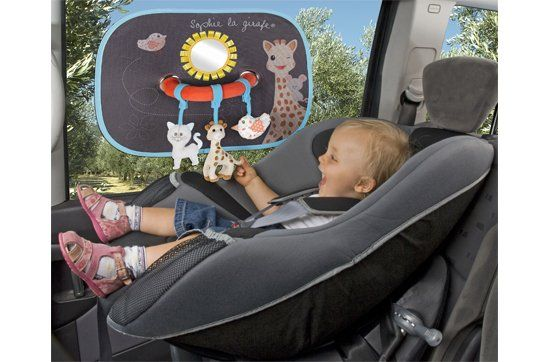 Protect your baby from the sun during car journeys!  http://babyglitter.gr/t/brands/sophie-la-girafe/