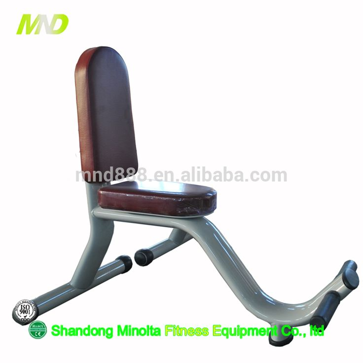 Durable Utility Bench Professional Commercial Fitness Equipment One-Time Shaped Cushion Fitness Machines Exercise Sit Up Bench