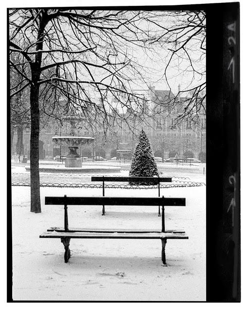 Snowy Place des Vosges