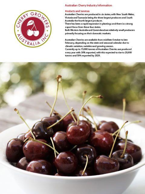 Cherry growers Australia