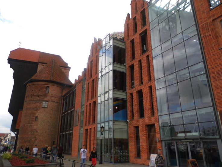 Gdansk, new buildings in Old Town