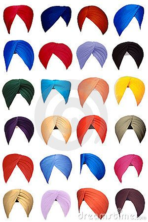 Turbans: Among the Sikhs (the community which more than half of the state's population), the turban is an article of faith that represents honour, self-respect, courage, spirituality, and piety. It is considered to be an important part of the unique Sikh identity. Its mostly men who wear turbans and for an adolescent, wearing a turban signifies his coming of age. They come in multiple styles and colours and often a Sikh's birthplace can be judged by the style of turban predominant there.