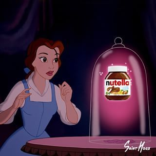 … or a real, tangible jar of Nutella. | 16 Disney Memes That Prove It's Time To Dump The Jerk