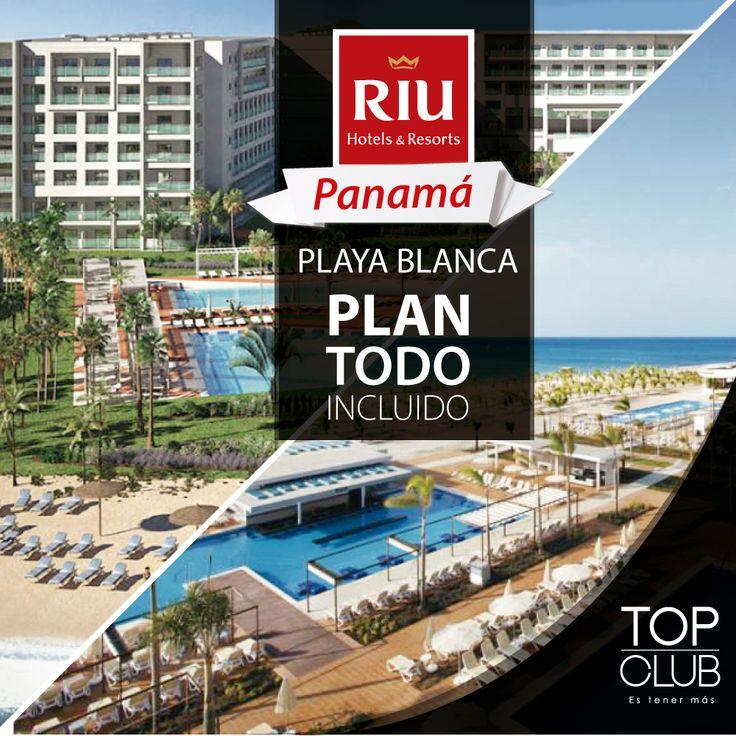 Desde ya puedes realizar tus reservas para disfrutar en Panamá El Plan TODO INCLUIDO con el Hotel RIU PLAYA BLANCA. Llámanos y conoce las tarifas especiales que tenemos para ti (4) 444 02 05. RIU Hotels and Resorts
