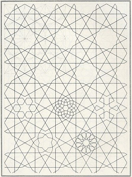 BOU 089 | Les Elements de l'art Arabe | Pattern in Islamic Art