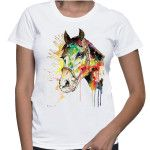 Watercolour Horse by Bianka Kovacs. See the tee here: http://nobodyspeople.com/product/watercolour-horse-3/