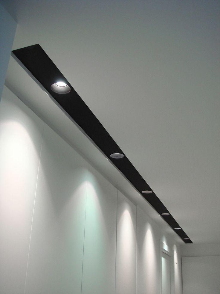 Pisua donostian techos en 2019 iluminaci n de pared - Focos empotrados techo ...