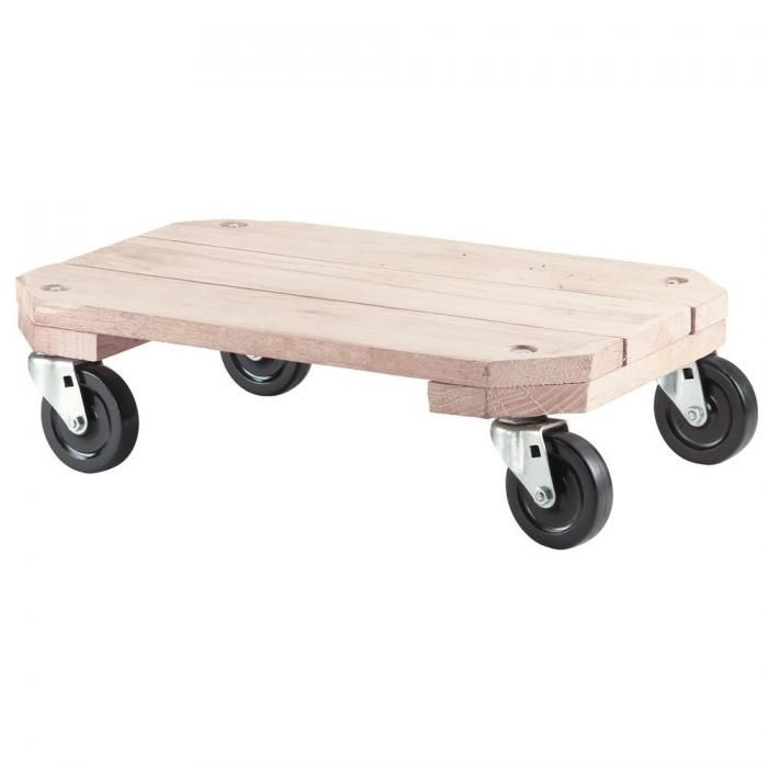 Shepherd 9854 Plant Dolly Plant Stand Furniture Dolly