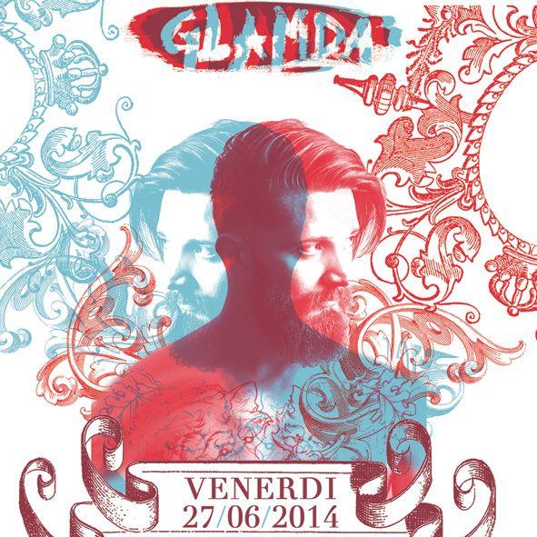 Venerdì 27 giugno | Glamda SumerVille 014 at METROPOLIS // ROMA / Casa del Jazz › Free entry! ‹   w// Hugo Sanchez + D_Hanger + VioletMonkey !  info www.glamda.com