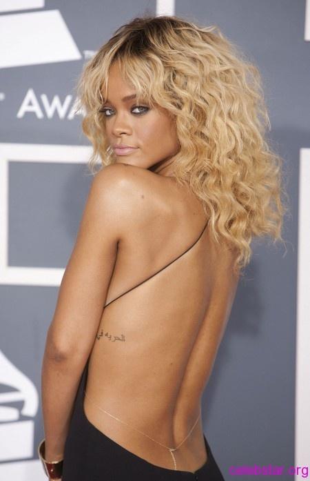 Rihanna red carpet dress by Giorgio Armani (3)