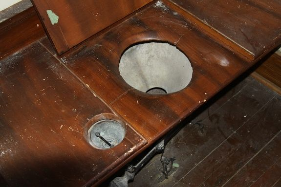 Flushed with Pride: 1850s Bathroom Boasts Early Plumbing Technology