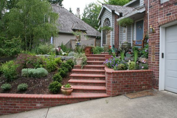 hillside landscaping ideas for front yard   We are really glad we worked with you on our design. We got exactly ...