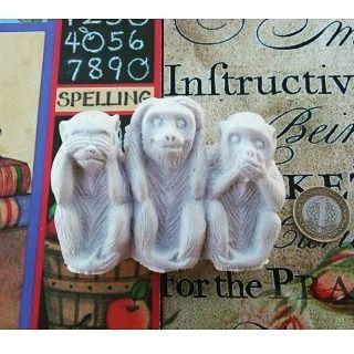Üçlü Maymun Boyutlar: 9x5cm Fiyat: 5TL http://ift.tt/1Wsu3hp #polyester #hobi #biblo #biblolar #biblopolyester #polyesterbiblo #polyesterbiblolar #üçmaymun