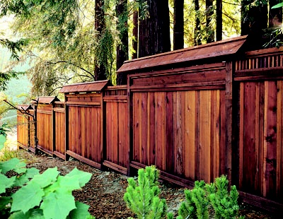 25 best redwood fences images on pinterest wood fences backyard get creative with your redwood fence there are many unique designs workwithnaturefo