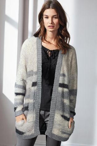 Buy Fluffy Patch Cardigan from the Next UK online shop
