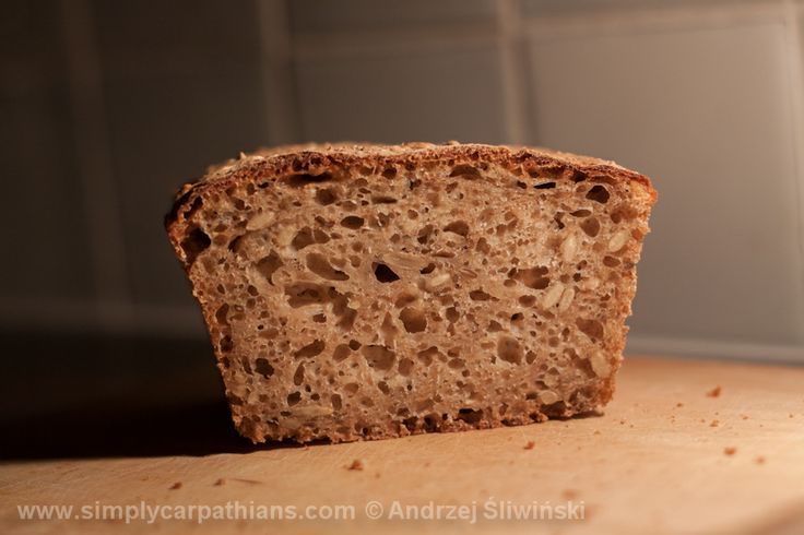 Fresh bread made from natural ingredients...mhm ;)  www.simplycarpathians.com