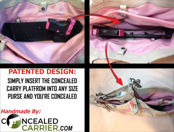 Concealed Carry Purse Holster Womens Gun by ConcealedCarrier
